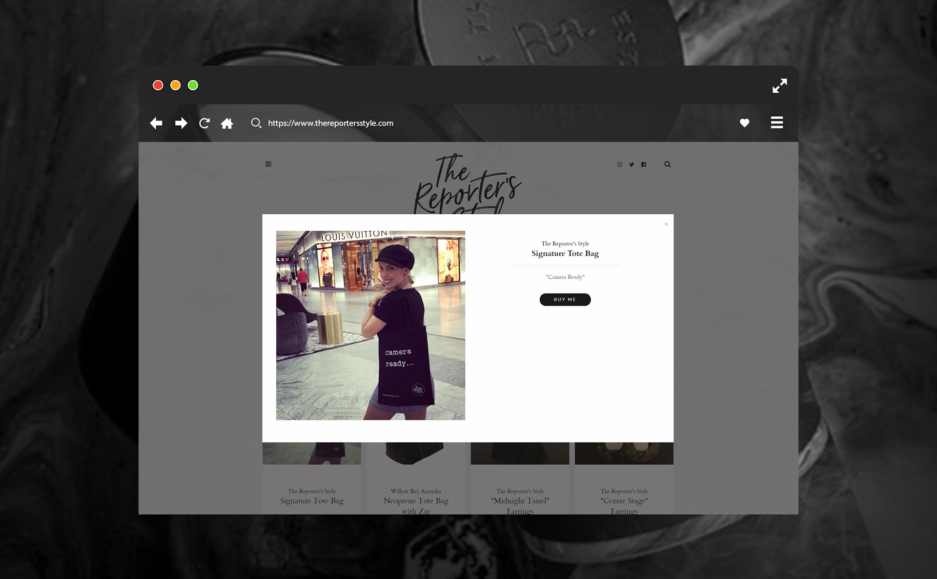 The Reporter's Style Website / Yo Francisco Martinez